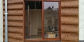 bardage de façade en bois