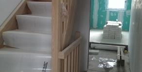 escalier bois en chêne
